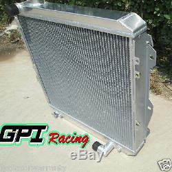 High-Per aluminum alloy radiator for For toyota HILUX LN106 LN111 Diesel 88-97