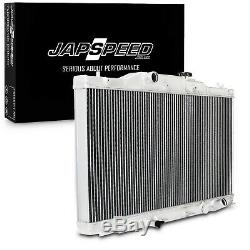 JAPSPEED 40mm ALLOY RACE SPORT RADIATOR RAD FOR HONDA INTEGRA DC5 TYPE R 01-05
