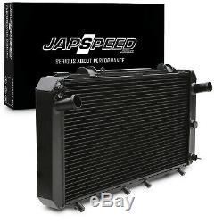 JAPSPEED 40mm ALLOY SPORT RADIATOR RAD FOR TOYOTA MR2 MR-2 MK2 SW20 2.0 TURBO