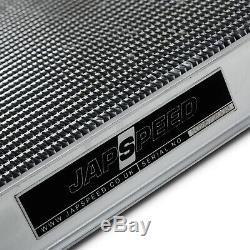 JAPSPEED 40mm ALLOY TWIN CORE RADIATOR FOR SUBARU IMPREZA WRX STI BUGEYE 01-03