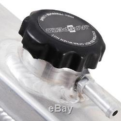 JAPSPEED 50mm ALUMINIUM ALLOY RACE ENGINE RADIATOR RAD FOR NISSAN SKYLINE R32