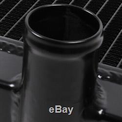 Japspeed High Flow Aluminium Black Drift Radiator For Nissan 200sx S14 S14a S15