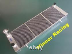 Jeep Aluminum Alloy Radiator & Fan Cherokee XJ 4.0 242 CID L6 MT 1984-2005 56mm