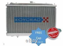 Koyo Aluminium Radiator, Fits Skyline R33 GT-R Man. 08/93-09/96 KL020442R