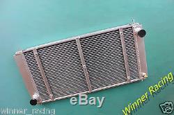 Lotus excel, eclat, elite 2.0/2.2 m/t 1974-1992 racing alloy radiator dual core