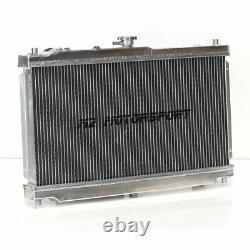 M2 Mazda Mx5 Mk2 Nb 1.6 1.8 98-05 Twin Core Tig Aluminium Alloy Radiator Z3599