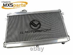 MX5 Performance Alloy Aluminium Radiator 42mm Core Mazda MX-5 Mk1 NA 19891998