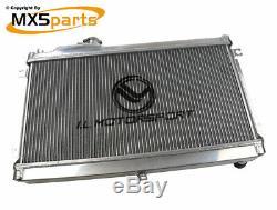 MX5 Performance Alloy Aluminium Radiator 50mm Core Mazda MX-5 Mk1 NA 19891998