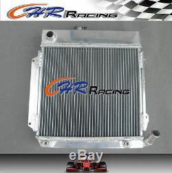 New Aluminum Radiator Bmw E10 2002/1802/1602/1600/1502 Tii/turbo At/mt