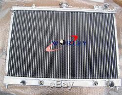 Racing alloy aluminum radiator For Nissan Pintara Skyline R31 AT/MT