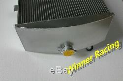 Radiator For Jaguar C-Type XK120-C Heritage Chassis L6 3.4L 1951-1953 Aluminum