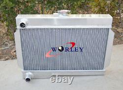 Rover Mg/mgb-gt Mt Nib Alloy Aluminum Radiator