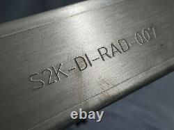 S2k-r Racing Dual Core Aluminium Alloy Radiator Honda CIVIC Eg Kswap 3/4 Drop In