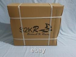 S2k-r Racing Dual Core Aluminium Alloy Radiator Honda CIVIC Eg-ek Kswap Sideport