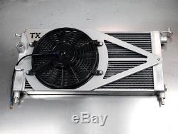 TXautosport Alloy Aluminium Radiator Corsa B GSi 2.016v Redtop Conversion + Fan