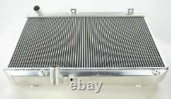 Toyosports Aluminium Alloy Race Radiator Rad For Mazda Rx-8 Rx8 Manual Se17