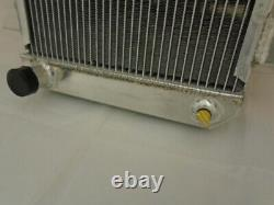 Triumph TR4 ALLOY RADIATOR Short Neck Aluminium New 402001