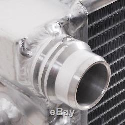 Twin Core Aluminium Alloy Cooling Race Radiator Rad For Golf Mk6 Audi A3 1.2tsi