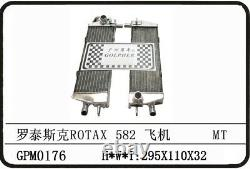 Ultralight Aircraft 2 Stroke Rotax 582 90-99 Alloy Radiator A Pair