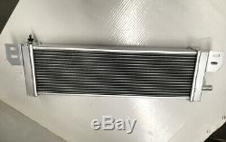 Universal Air to Water Intercooler Aluminum Radiator Liquid Heat Exchanger 19mm