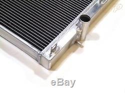Universal Alloy Radiator & Slim Fans Core Size 700mm x 375mm x 42mm