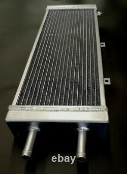 Universal Alloy Water-To-Air Intercooler Radiator Air-To-Liquid Heat Exchanger