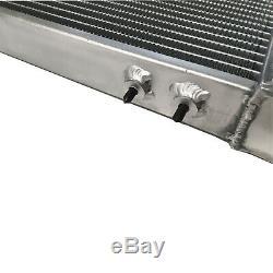 Universal Aluminum Radiator Air-Water Intercooler Air to Liquid Heat Exchanger