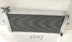 Universal Aluminum Radiator Air to Water Intercooler Heat Exchanger Supercharger