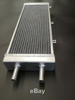 Universal alloy water to air intercooler radiator air to liquid heat exchanger