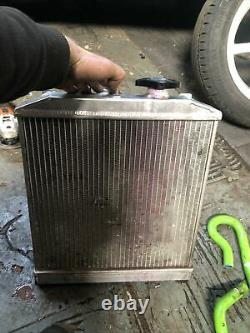 Upgraded Alloy Radiator For Honda Civic EK EG B16 B18 CRX DEL SOL With Pipes