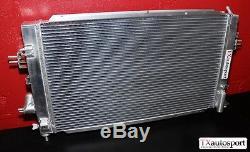 Vauxhall Astra VXR Z20LEH Turbo Aluminium 38mm Twin Core Alloy Uprated Radiator