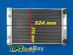 Vw Corrado Scirocco Jetta Golf Gti Mk2 1.8 16v 1986-1992 Aluminum Alloy Radiator