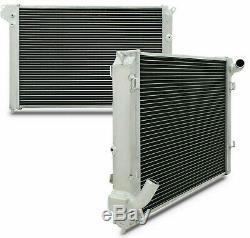 2 Core 40mm Alliage D'aluminium Pour Radiateur Bmw Mini Cooper S R52 R53 Jcw 1,6 A / C