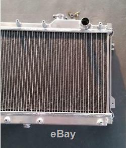 2 Rangée Radiateur En Aluminium Pour Mazda Mx5 Miata 1.6l 1.8l 1990-1997 91 92 93 Manual