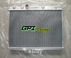 2 Rangée Radiateur En Aluminium Pour Peugeot 206 Gti / Rc 180 1999-2008 00 01 02 03 04 05