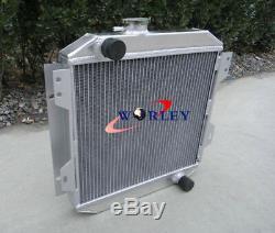 2 Rangée Radiateur En Aluminium Pour Rs Ford Capri / Escort Mk1 Superspeed Essex V6 2,6 / 3l