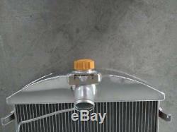 2 Rangées Aluminium Radiateur De Liquide De Refroidissement De L'alliage Pour Le Modèle Ford A 1928 1929 28 29