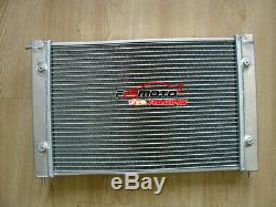 2 Rangs Pour Vw Radiateur Aluminum Corrado Scirocco Jetta Golf Gti Mk2 1.8 16v 86-92