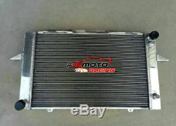 2 Row Pour Volvo 850 C70 S70 V70 2,3 2,4 2,5 L5 1996-2005 At Radiateur En Aluminium