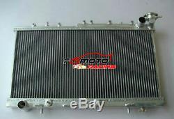 2 Row Radiateur En Aluminium Pour Nissan Pulsar N14 Gtir Sr20det N15 At / Mt