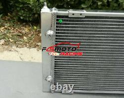 2 Row Radiateur En Aluminium Pour Volkswagen Vw Golf 2 & Corrado Vr6 Turbo Manuel Mt