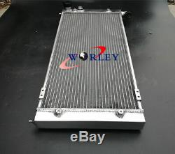 2 Row Radiateur En Aluminium Pour Volkswagen Vw Golf 2 Et Corrado Vr6 Turbo Manual Mt