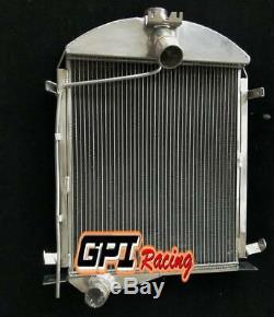 2row Pour Le Modèle Ford A 1928 1929 Radiateur En Alliage D'aluminium