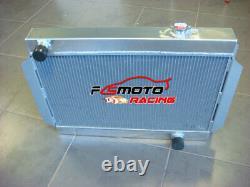 3 Core Alloy Aluminum Radior For Holden V8 Chevy Motor Universel Manuel Mt