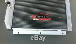 3 Ligne De Ramassage Chevy Pick-up 1947-1954 48 49 50 51 Radiateur En Aluminium At