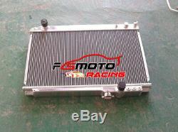 3 Ligne Pour Toyota Supra Soarer Mk3 Ma707m-gte 3.0l 1986-1992 Mt Radiateur En Aluminium