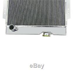 3 Mise À Niveau Ligne Radiateur En Aluminium Pour 1964-1966 Ford Mustang V8 Échange Moteur Seulement