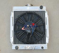 3 Radiateur D'allocution Et 12 Ventilateur Thermo Pour Datsun 1200 120y B110 A12/t 1970-1976