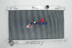 3 Rangée Radiateur En Alliage D'aluminium Mazda Rx7 Fd3s Mt 1992 1993 1994 1995 92 93 94