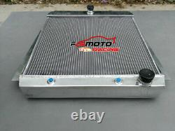 3 Rangée Radiateur En Aluminium Pour 1955-1959 Chevy Pick-up V8 55 56 57 58 59 A / Mt